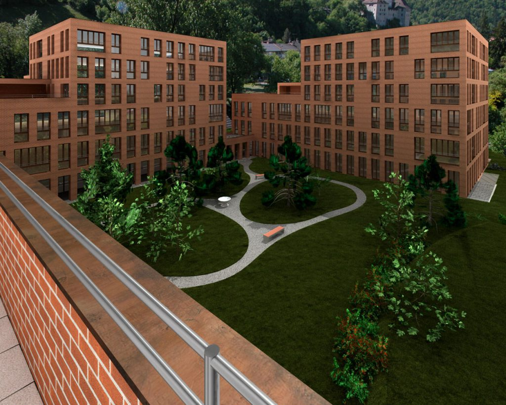 b ros und wohnfl chen in feldkirch villa menti plaza j ger projects. Black Bedroom Furniture Sets. Home Design Ideas